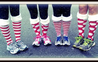 Christmas socks or anti snoring socks