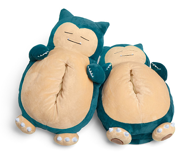 snorlax snoring slippers