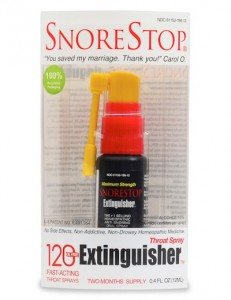 snorestop extinguisher 120