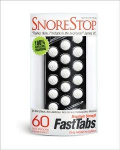 SnoreStop FastTabs
