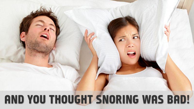 Catathrenia is worst than regaulr snoring